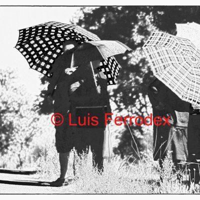 paraguas de verano